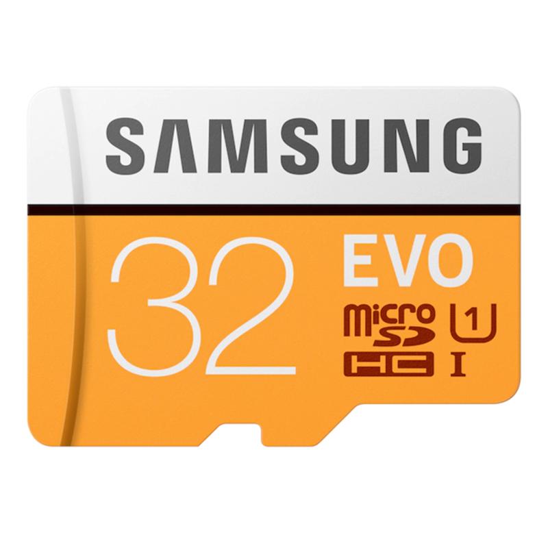 Samsung 32GB EVO Micro SD Card (SDHC) UHS-I U1 + Adapter - 95MB/s