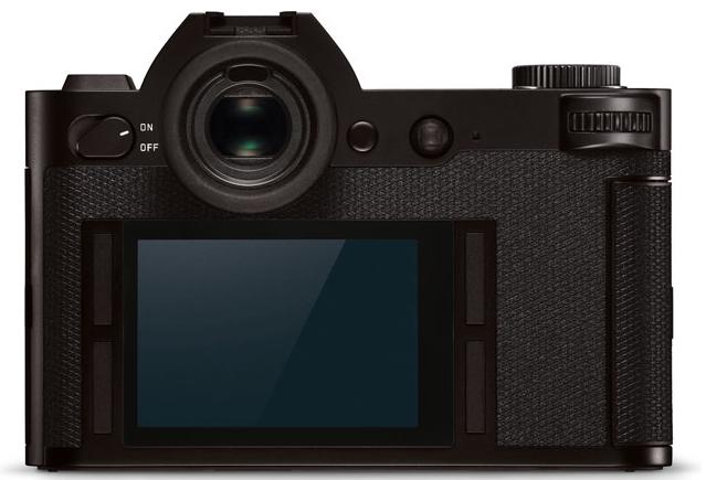 Back of Leica SL