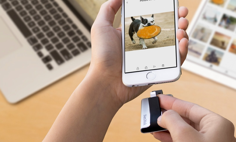 SanDisk iXpand best for adding storage to your iphone