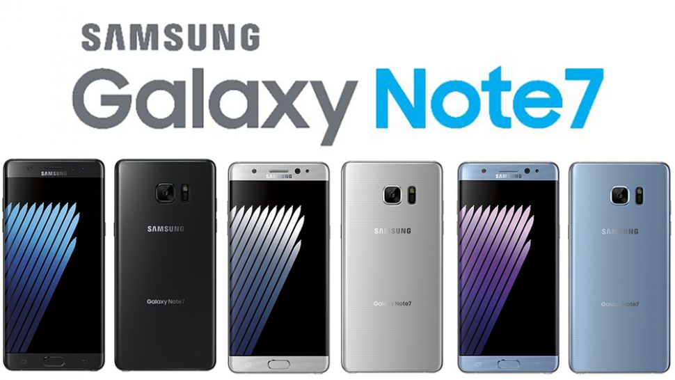 Samsung Galaxy Note 7 Colours