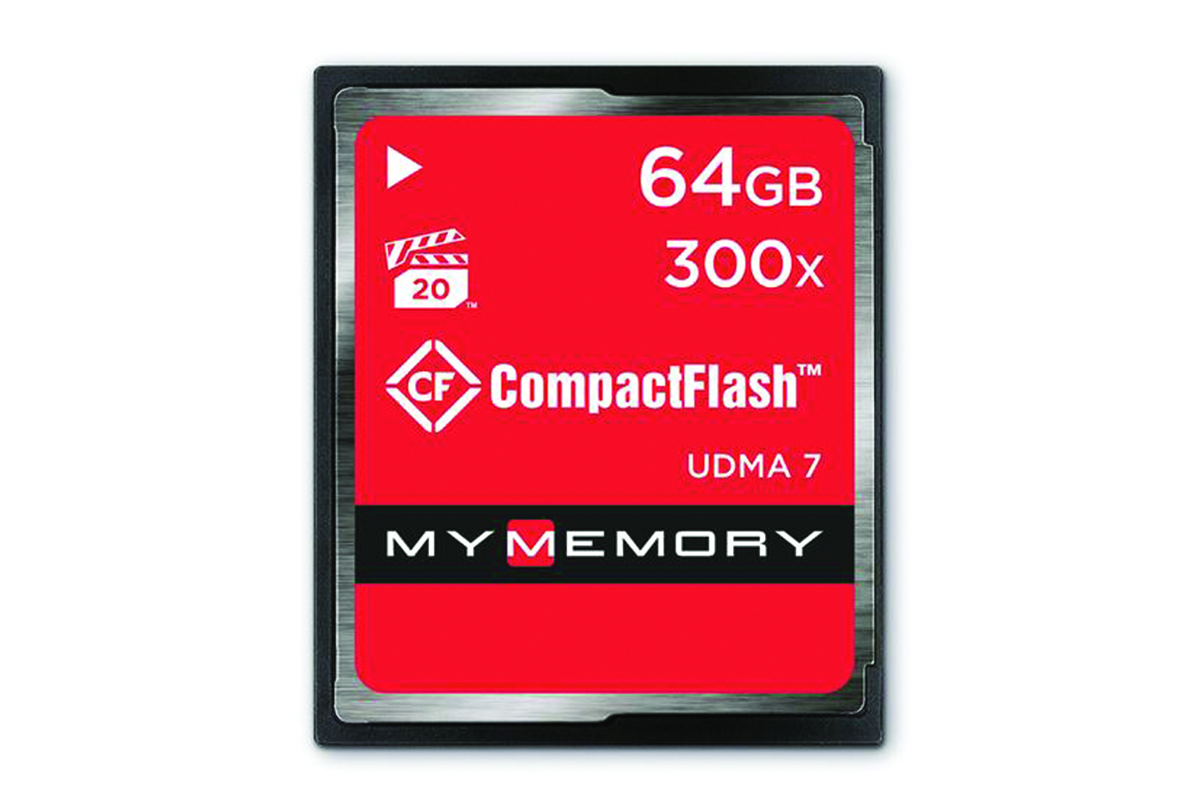 MyMemory 64GB 300X Compact Flash - 45MB/s
