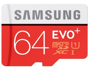 Samsung Evo 64GB Micro SDXC