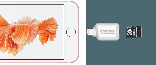 iPhone 7 Storage Photofast CR-8800
