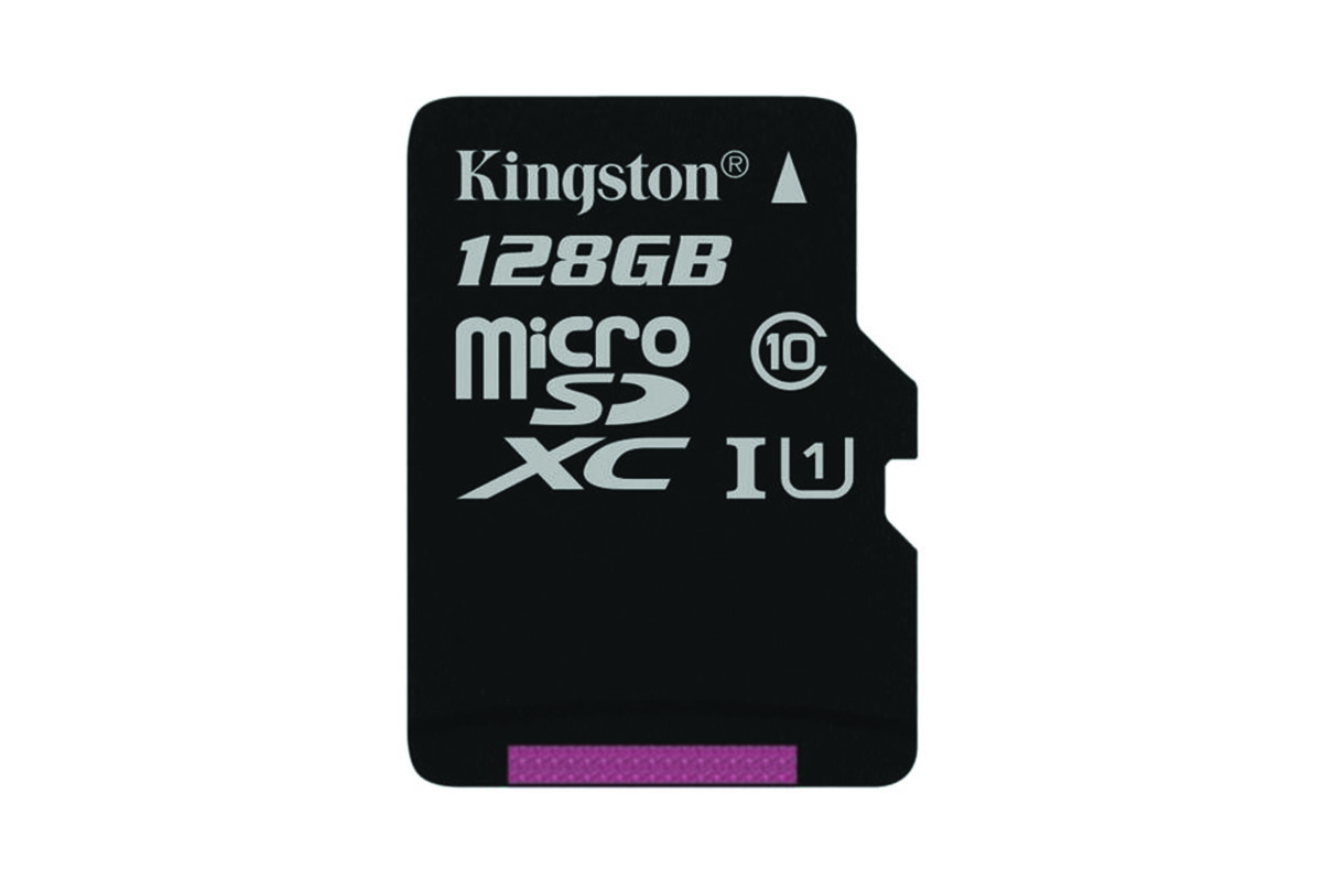 Kingston 128GB Canvas Select Micro SD Card (SDXC) UHS-I - 80MB/s