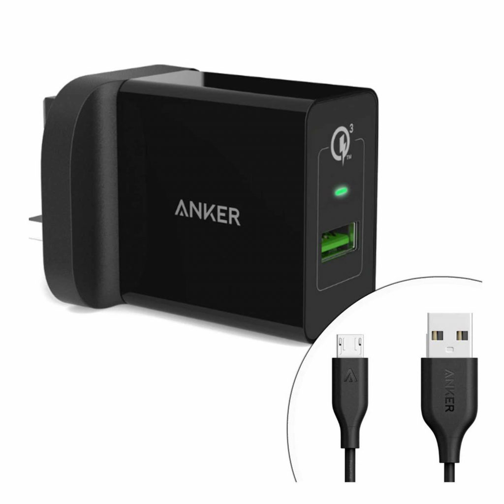Anker Quick Charge your Samsung S8 3.0