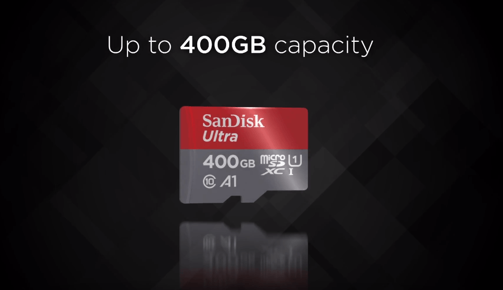 Sandisk-400GB Micro SD