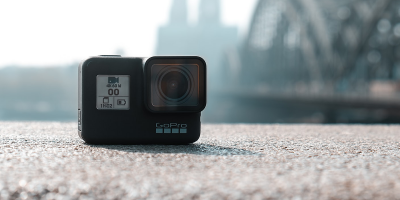 Black GoPro camera in selective focus photography | Photo: Markus Lompa via Unsplash
