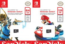 SanDisk Nintendo Switch Micro SD Card