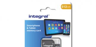 Integral Memory's 512GB microSD
