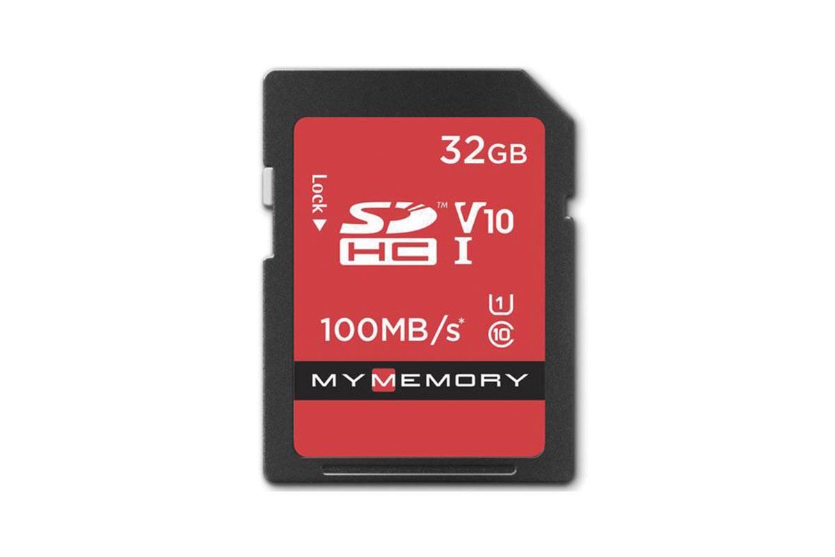 MyMemory 32GB V10 High Speed SD Card (SDHC) UHS-1 U1 - 100MB/s