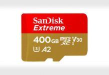 SanDisk Extreme A2 400GB microSD