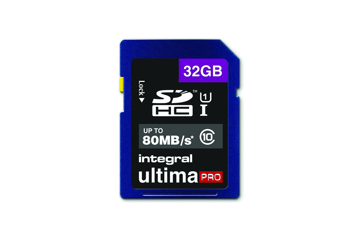 Integral 32GB Ultima PRO SD Card (SDHC) - 80MB/s