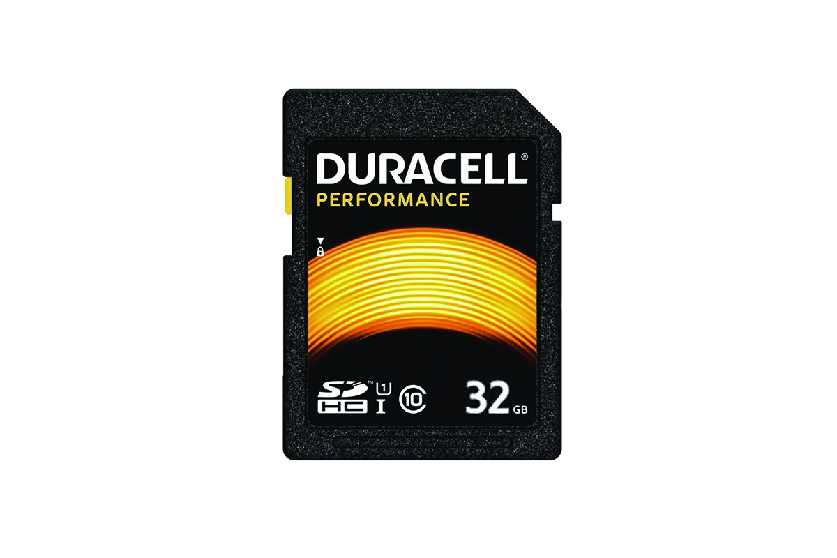 Duracell 32GB Performance SD Card (SDHC)