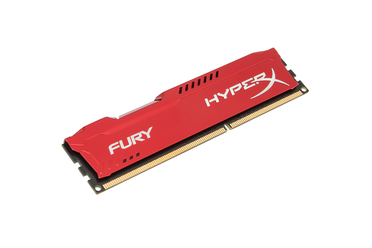 HyperX FURY 16GB (2 x 8GB) 1600MHz DDR3 240 Pin CL10 DIMM PC Memory Module