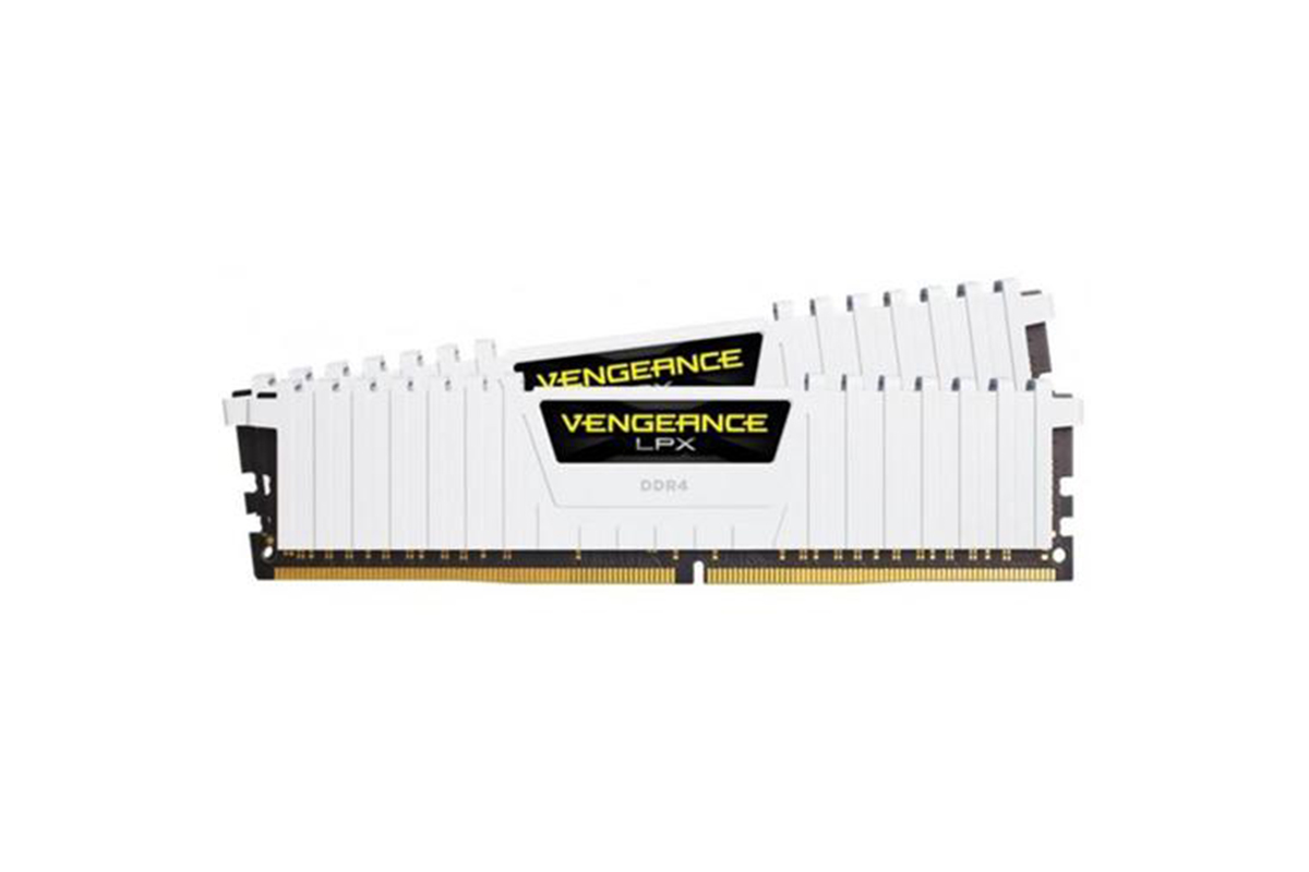 Corsair Vengeance LPX 16GB (2x8GB) DDR4 DRAM 3000MHz C15 Memory Kit - White