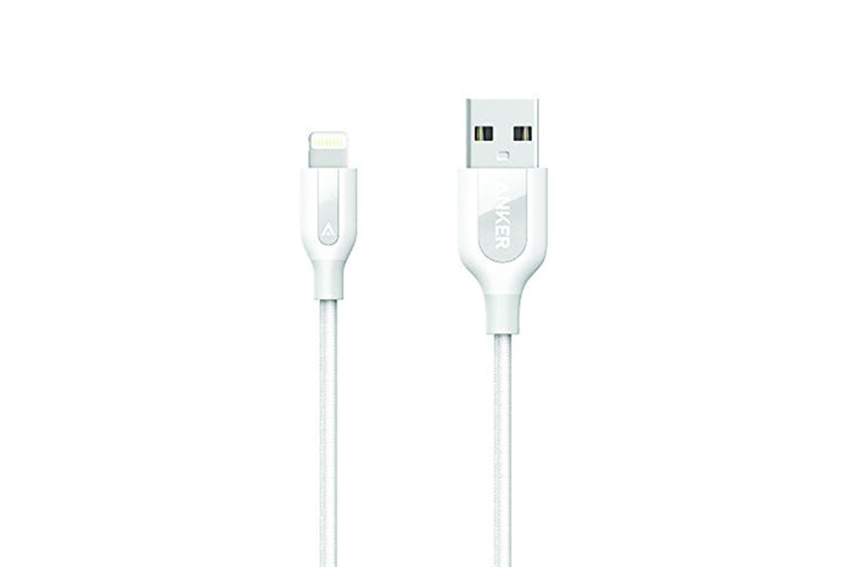 Anker PowerLine+ Lightning Cable - White