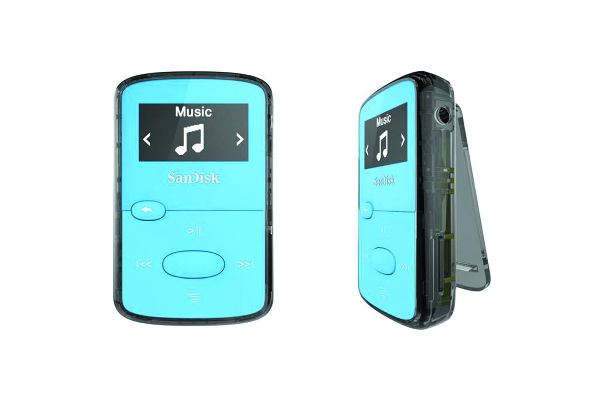 SanDisk Clip Jam 8GB MP3 Player - Blue
