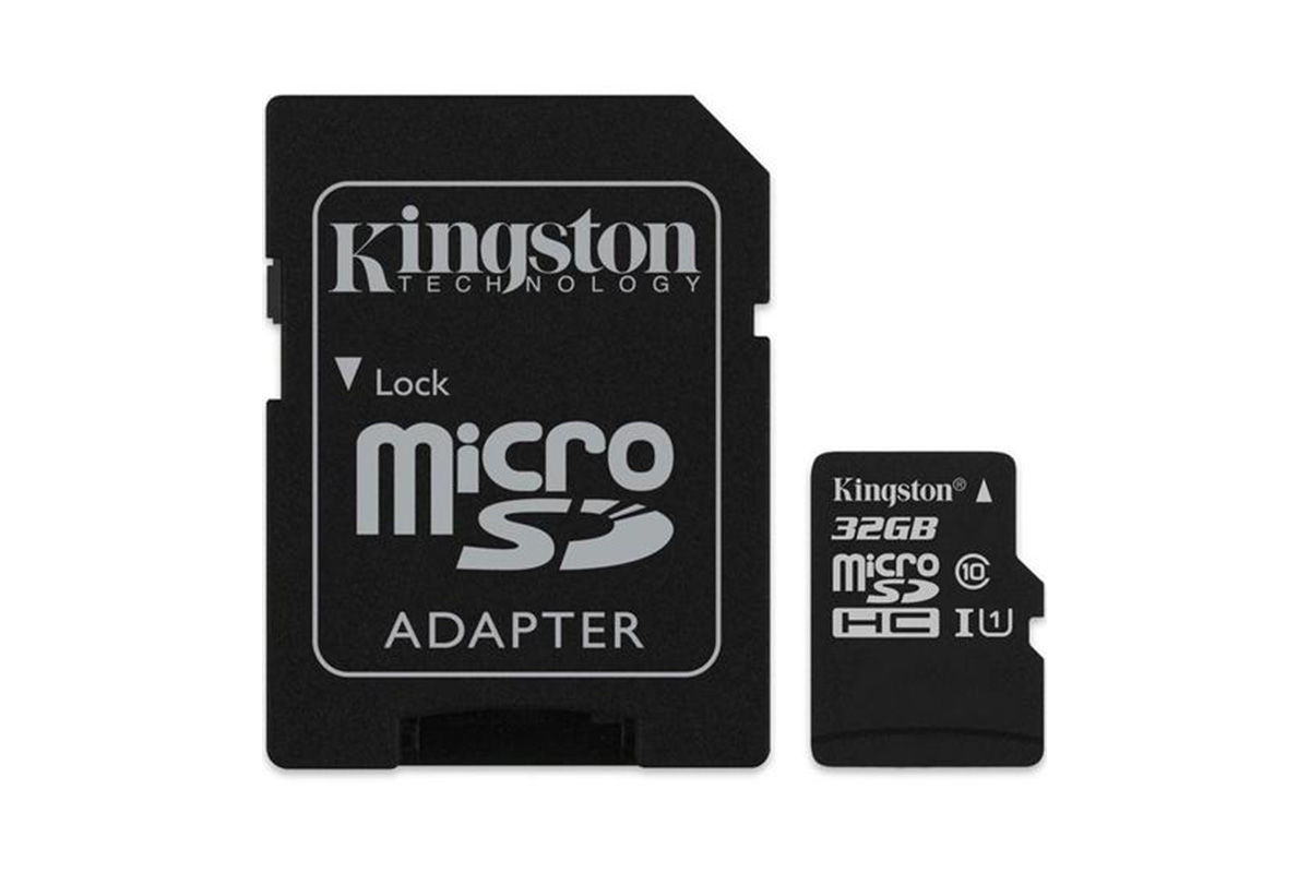 Kingston 32GB Canvas Select micro SD Card (SDHC) + SD Adapter - 80MB/s
