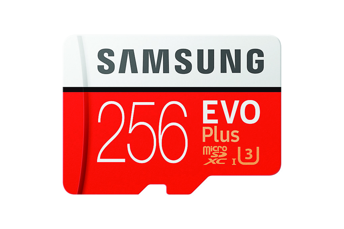 Samsung 256GB Evo Plus Micro SD Card (SDXC) UHS-I U3 + Adapter - 95MB/s