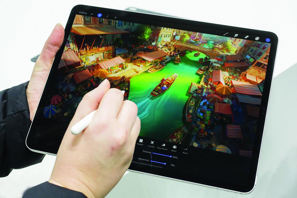 iPad Pro: Apple Pencil