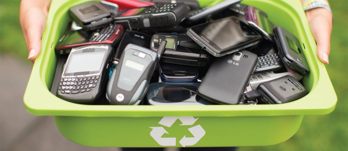 Recycling Old Phones
