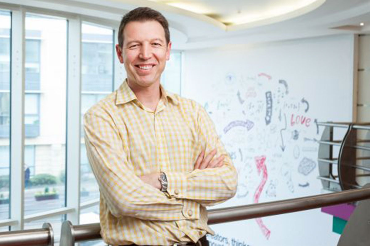 Three's UK chief executive - Dave Dyson