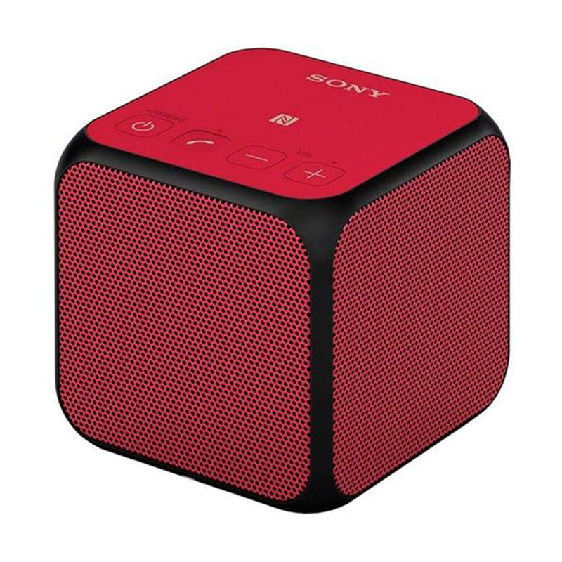 Sony Portable Wireless Speaker with NFC - Red