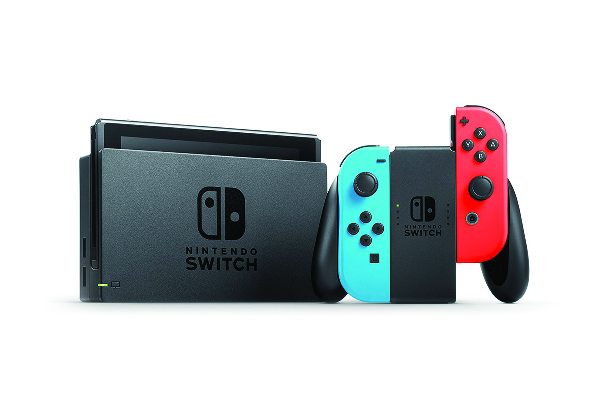 Nintendo Switch Neon Gaming Console