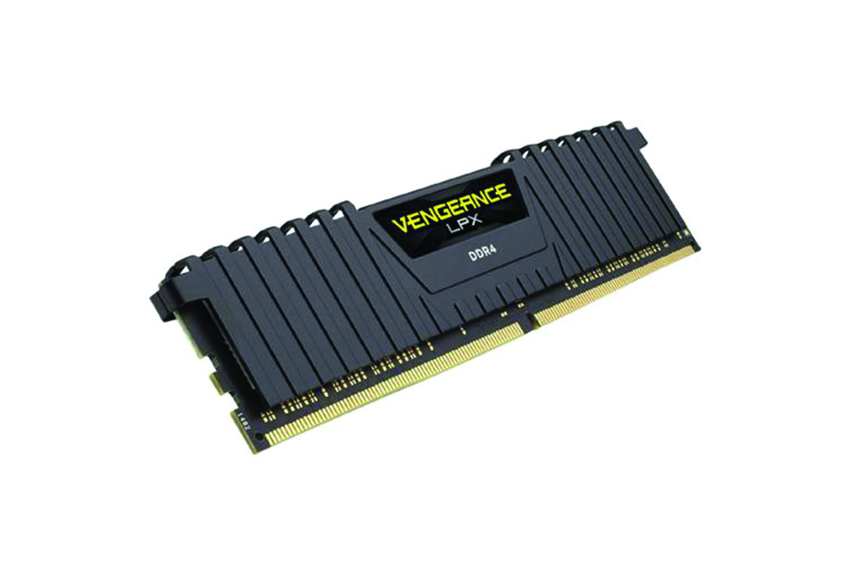 Corsair Vengeance LPX 16GB (2x8GB) DDR4 DRAM 2666MHz C16 Memory Kit - Black