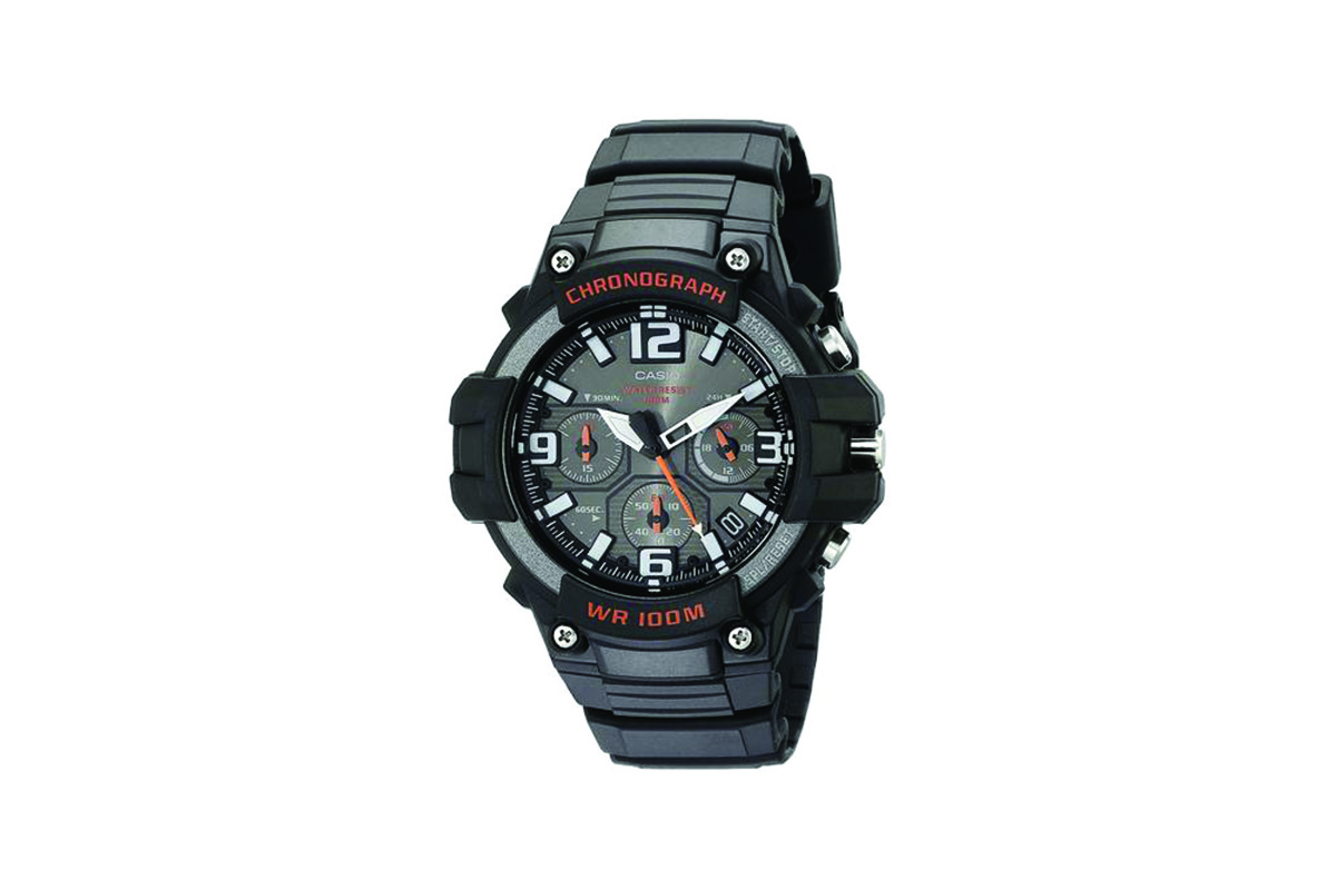 Casio Mens Twin Sensor Sports Watch - Black