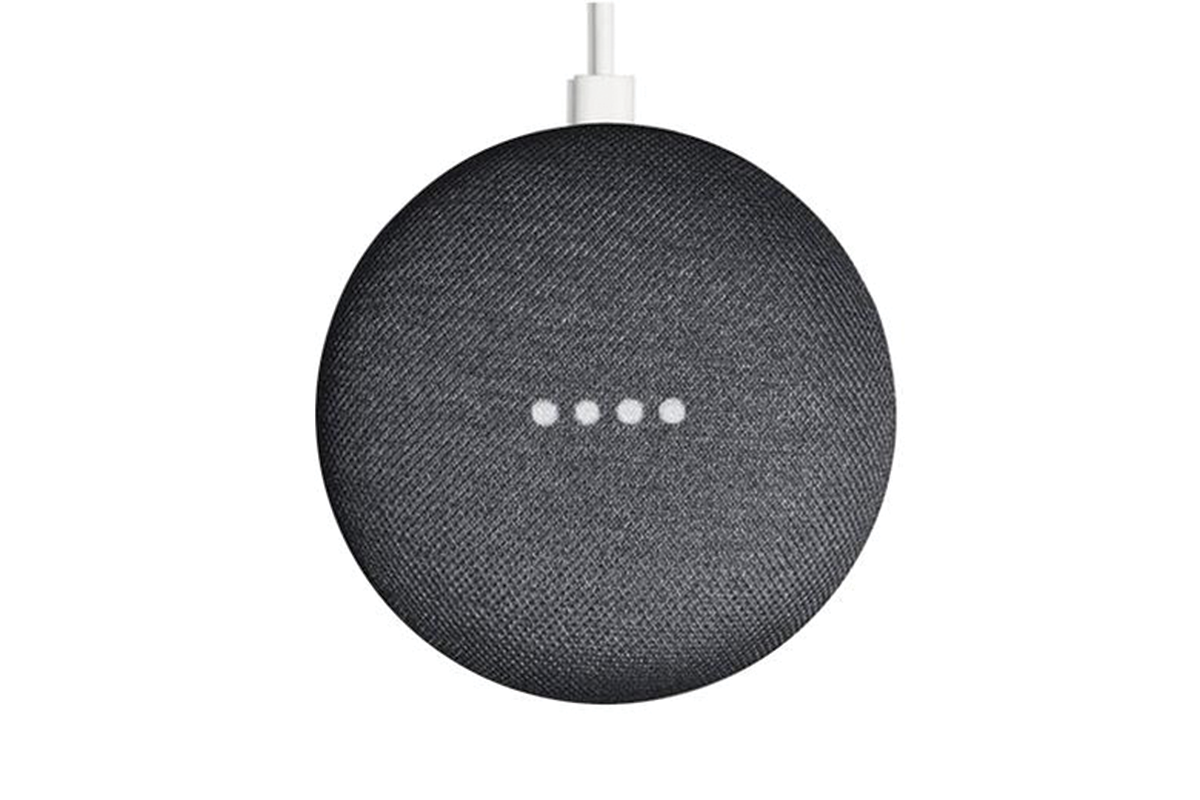 Google Home Mini Smart Speaker - Charcoal