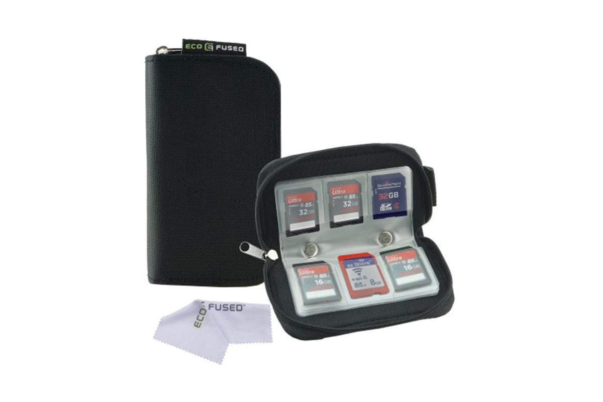 ECO-FUSED Memory Card Carrying Case