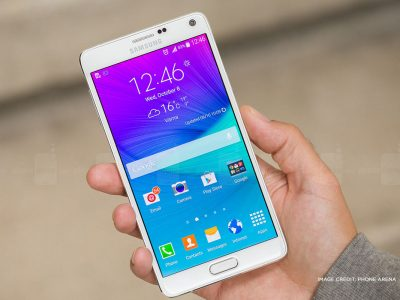Samsung Galaxy Note 4 - Image credit: Phone Arena