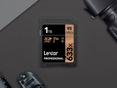 Lexar Releases 1TB SD Card | Photo: Engadget