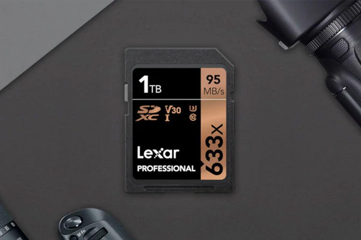 Lexar's 1TB SD Card