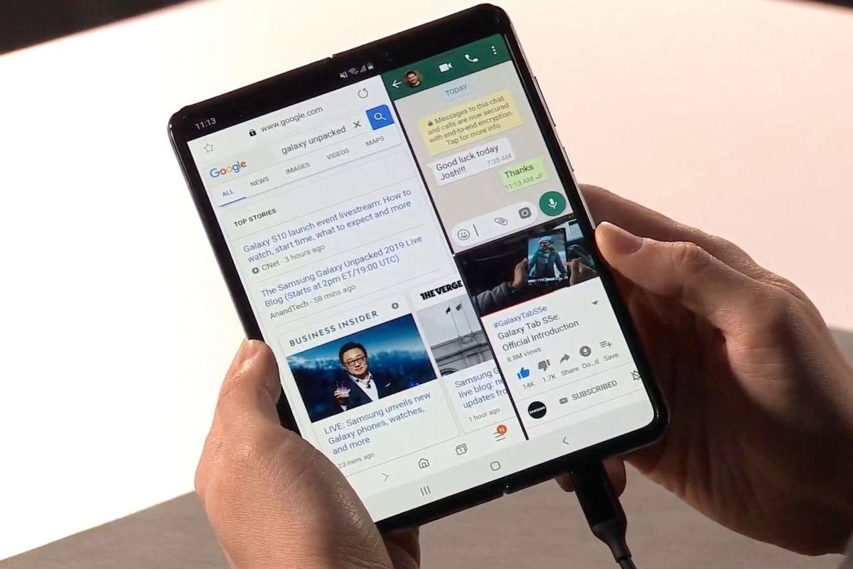 Samsung Galaxy Fold | Photo: PCWorld
