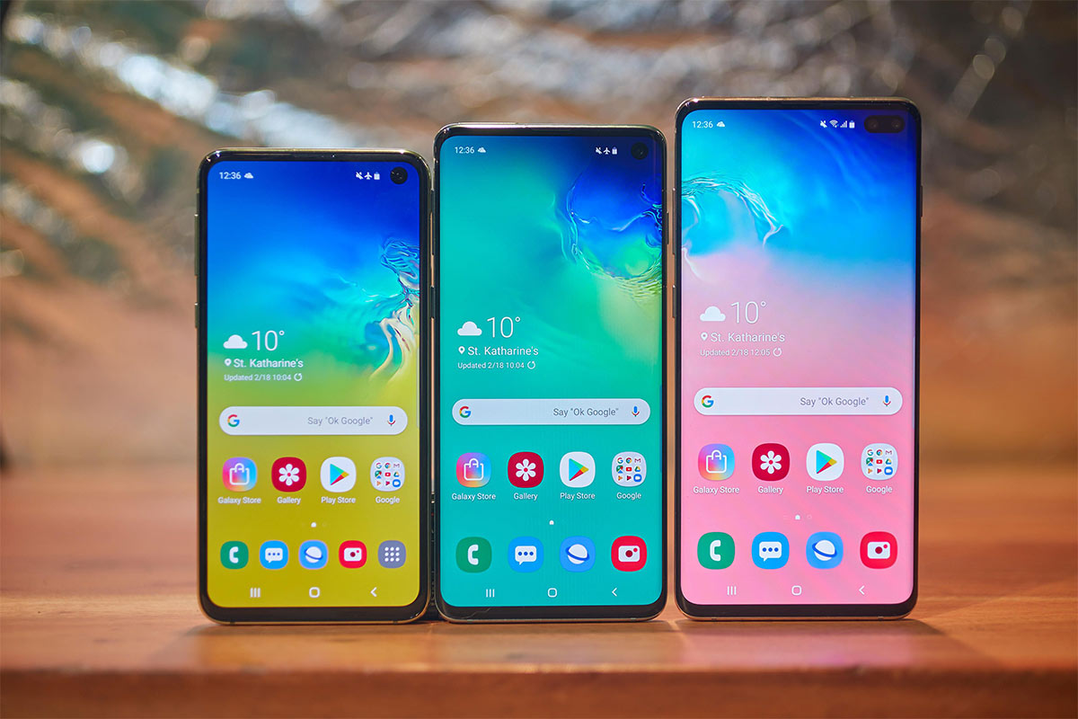 Samsung Galaxy S10 | Photo: cnet