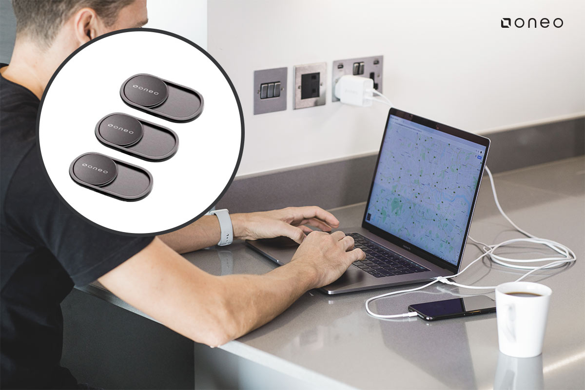 oneo Secure Webcam Covers - 3 Pack