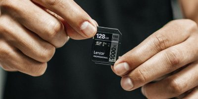 Lexar 128GB Memory Card | Photo: Luis Quintero