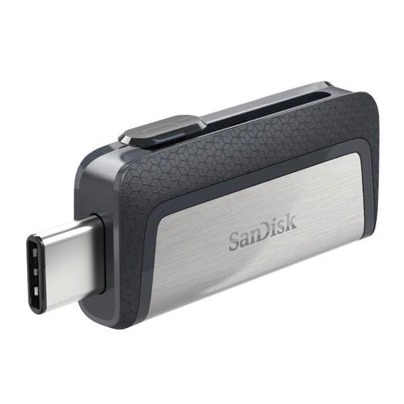 SanDisk 64GB Dual USB-C 3.1 Flash Drive - 150MB/s