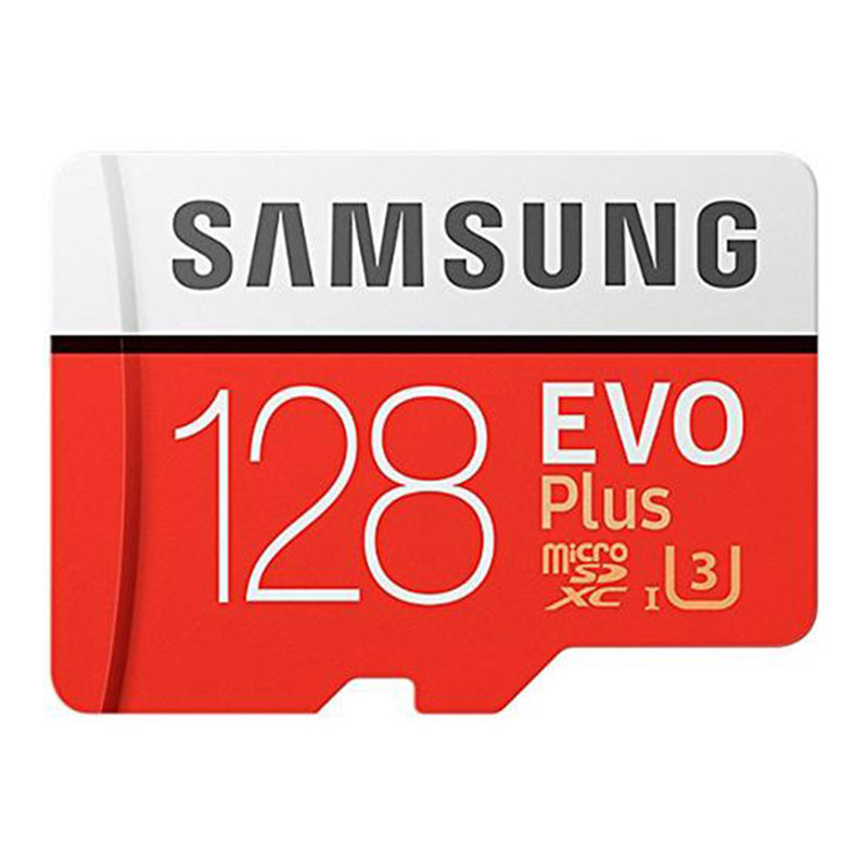 Samsung 128GB Evo Plus Micro SD Card (SDXC) UHS-I U3 + Adapter - 100MB/s