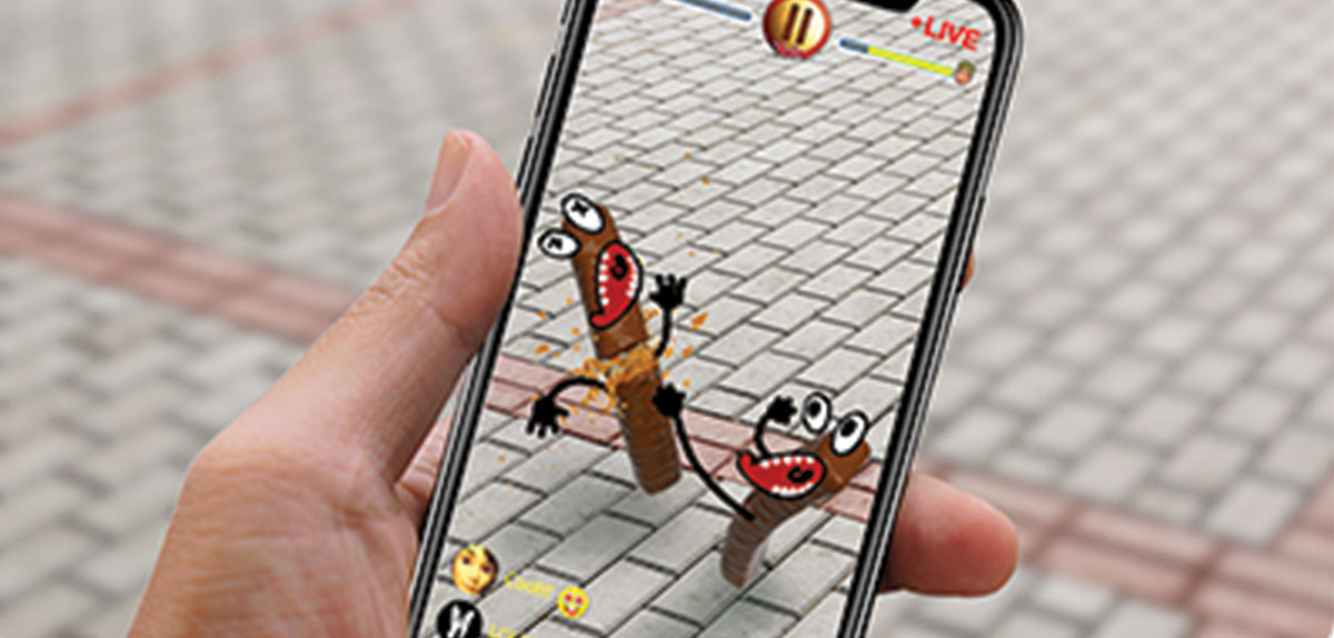 Image illustrating WATTY's ability to connect remote users within an augmented reality environment. Image: WATTY