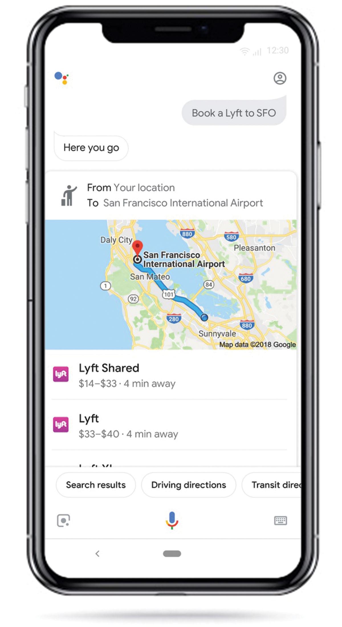 Book a Lyft with Google Assistant | Source: MSPoweruser
