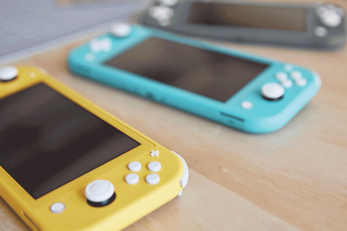 Nintendo Switch Lite colours | Photo: Nintendo