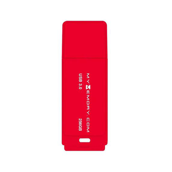 MyMemory 256GB USB 3.0 Flash Drive - Red - 200MB/s