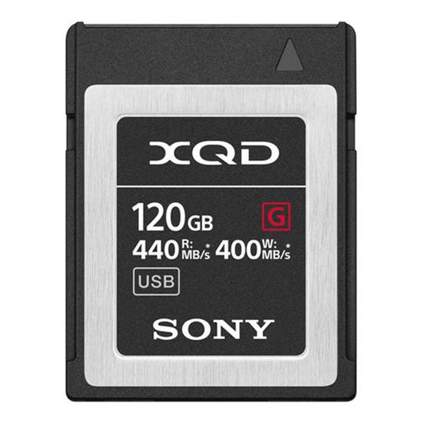Sony 120GB G Series XQD Card - 440MB/s
