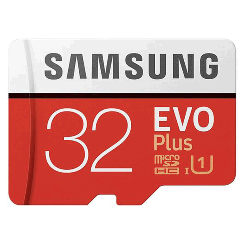 Samsung 32GB Evo Plus Micro SD Card (SDHC) UHS-I U1 + Adapter - 95MB/s