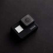 Photo of black GoPro Camera | Photo: Luis Quintero via Unsplash