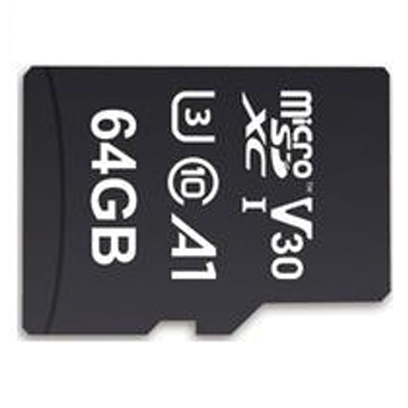 MyMemory 64GB V30 PRO Micro SD Card (SDXC) A1 UHS-1 U3 + Adapter - 100MB/s