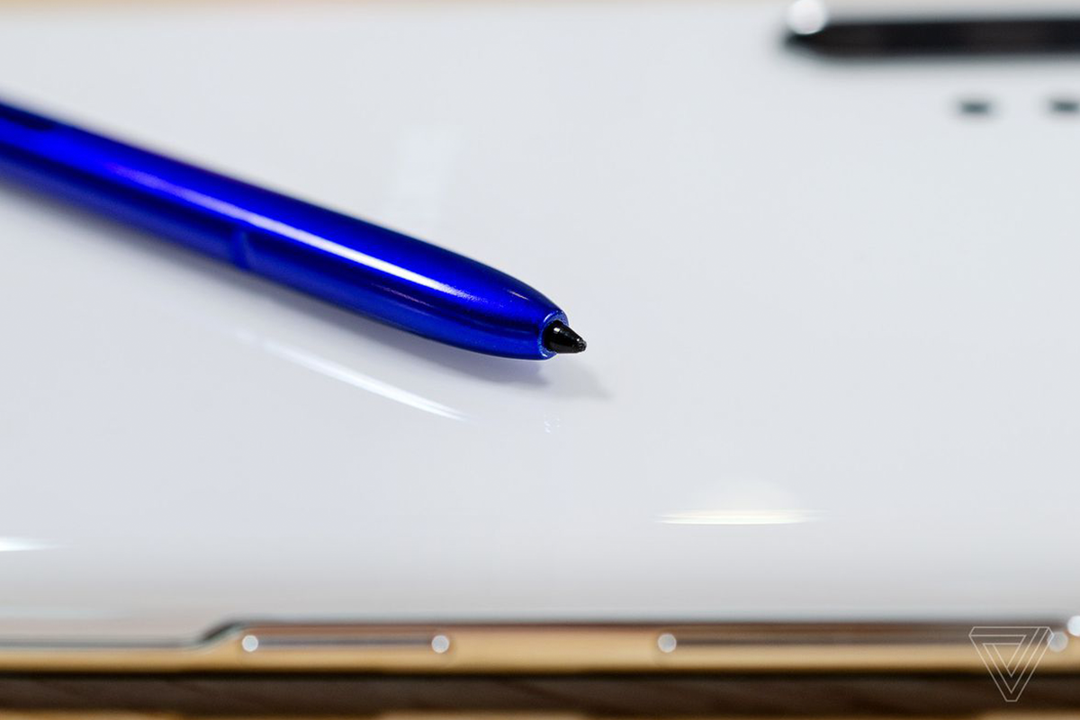 Note 10 S Pen | Photo: The Verge